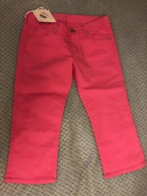 Pink Crop Replay Girls Trousers w36