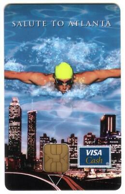 Salute To Atlanta Swimmer: VISA Cash Retail Delivery Conference Promo Smart Card