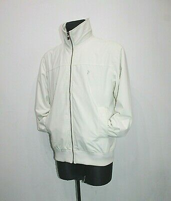 PEAK PERFORMANCE Sweden Seaside White Boat Jacket coat Sailing Mens Size L Large