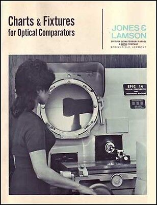 Charts & Fixtures Optical Comparators Jones & Lamson