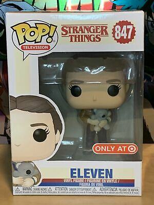 Funko Pop Eleven Holding Bear #847 Stranger Things Target Exclusive w/ Protector
