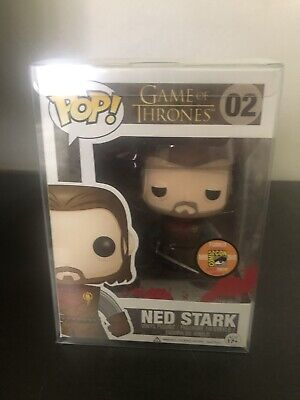 SDCC 2013 Exclusive Funko Pop Game Of Thrones Headless Ned Stark #02