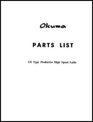 Okuma LS Type Lathe Parts Manual