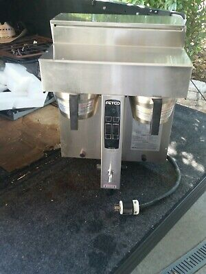 Fetco coffee brewer INDUSTRIAL DUAL BREWER SOLID PRO 240V