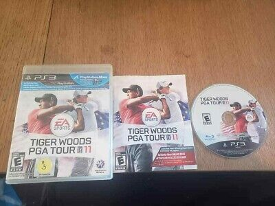Tiger Woods PGA Tour 11 (Sony PlayStation 3, 2010) Complete CIB PS3