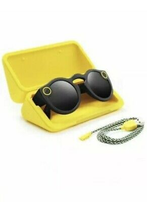 Brand New SNAP SPECTACLES GEN 1 Smartphone Camera Glasses Snapchat Black Sealed