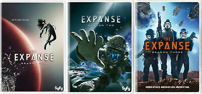 The Expanse Complete All Seasons 1-3 DVD Set Collection TV Series Show Episodes