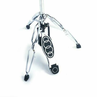 Steel Drum HI-HAT Cymbal Stand Double Braced Chrome High Hat Pedal Control