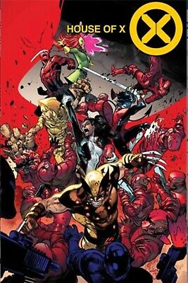 House of X #4 2019 MARVEL Comics Main Cover NM🔥🔥🔥🔥🔥