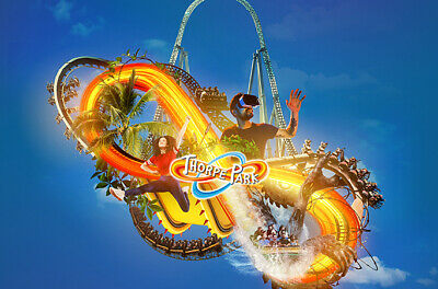 2 x thorpe park tickets for monday 2nd september 2019