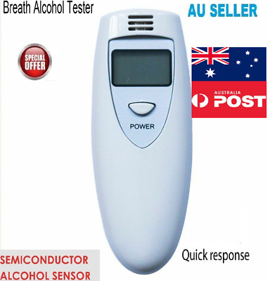 FAST Smart Alcohol Breath Tester Breathalyser Analyzer MINI Digital Breathalyser