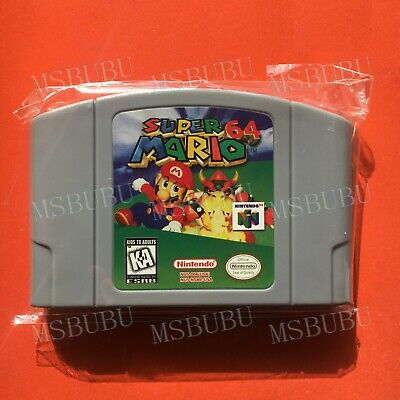 Super Mario 64 - For Nintendo 64 Video Game Cartridge N64 Console US Version