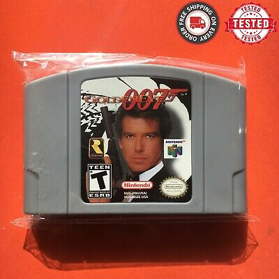Golden Eye - For Nintendo 64 Video Game Cartridge For N64 Console US Version