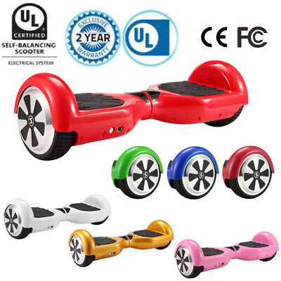 """Electric Hoverboard Bluetooth Smart Self Balancing Scooter UL2272 Certified 6.5"""""""