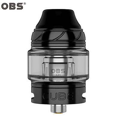 Authentic OBS Cube Sub Ohm Mesh Tank Cleromizer 24mm - Nero