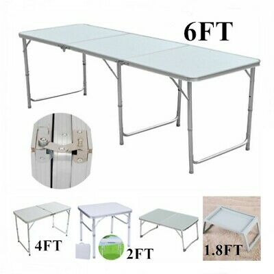Heavy Duty Folding Table Portable Picnic Camping Garden Party BBQ Indoor Outdoor