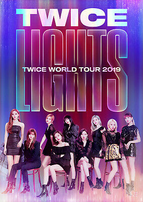 Twice World Tour 2019 Twicelights Official Goods Lenticular Photo Card Photocard