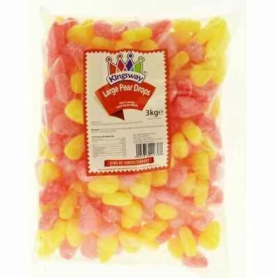 Kingsway Wholesale Discount Sweets - Pear Drops - Retro / Wedding / Party Bag