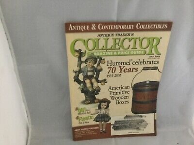 Antique Trader's Collector magazine and price guide July 2005