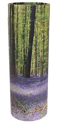 Small Scattering Ashes urn Biodegradable Cremation Funeral Scatter Tube Bluebell