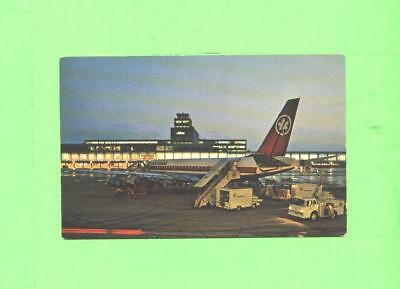 Oo Postcard Montreal International Airport Montreal P Quebec Dc 8 Plane