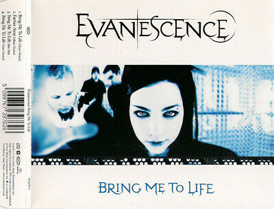 Evanescence Bring Me To Life 4 Track Cd Single