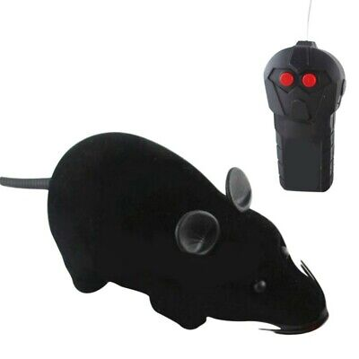 Pet Dog Cat Remote Control Fake Rat Mouse Prank Mice Mock Wireless RC Toy Gifts