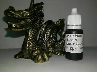 Dragon Blood Magic Oil Dragon Energy 10ml Protection Psychic Attack curses Luck
