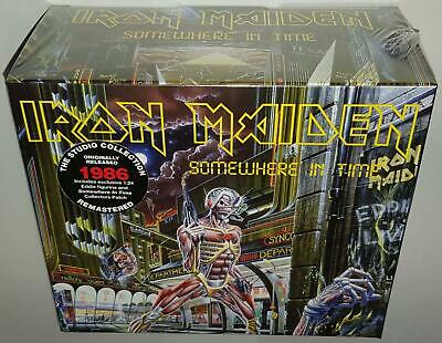 Iron Maiden Somewhere In Time (Deluxe) (2019) Brand New Sealed Cd W/ Figurine