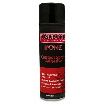 Sanglier Tuskbond One Spray Adhesive Glue Aerosol Can 500ml