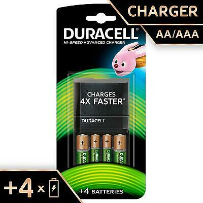 Duracell 15 Minutes Battery Charger With 2 AA And 2 AAA