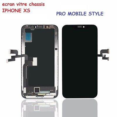 Ecran Oled Chassis Vitre Lcd Tactile Oem Original Pr Apple Iphone Xs + Outils