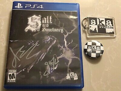 Salt and Sanctuary PS4 Signed By Developers Limited Run Games- Ships anywhere!