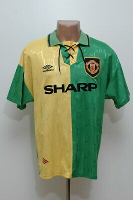 Manchester United 1992/1993/1994 Newton Heath Third Football Shirt Jersey Umbro