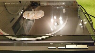 Technics SL-QL1 Direct Drive Linear Tracking Turntable Record Deck 80s HiFi
