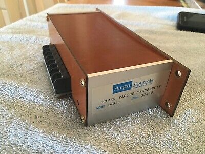Arga Controls 5-041 Power Factor Transducer
