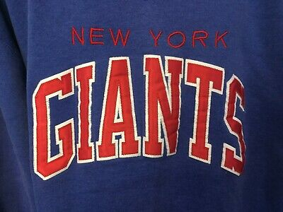 Vintage New York Giants Stitched Sweatshirt NFL NY Football Giants Shirt