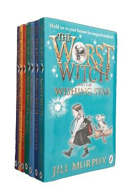 The Worst Witch 7 Books Collection Pack Jill Murphy Strikes Again Kids Fun New