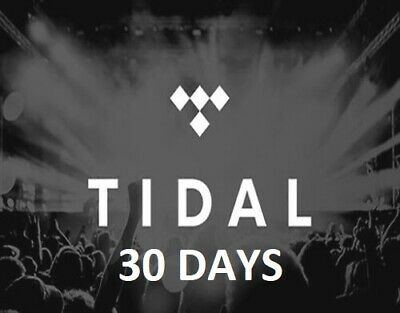 Tidal Hi-Fi Music Family Plan Account  30 DAYS