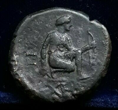 Tauric Chersonesos Artemis Parthenos Griffin ХЕР Magistrate КРА AE23 NICE COIN