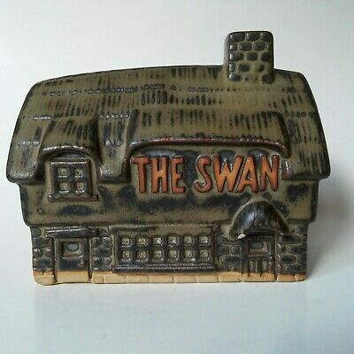 Vintage Tremar Pottery The Swan Coin Bank