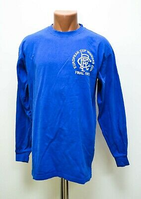 Rangers Scotland 1972 Home Football Shirt Jersey Score Draw Size L Retro Replica