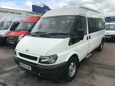 Ford TRANSIT 350 LWB MINIBUS 8 SEAT DISABLED RAMP + LIFT+ ACCESS TIDY BUS NO VAT