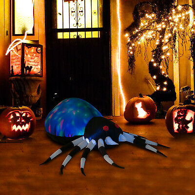 "HOMCOM 47.25"" Long Outdoor Lighted Airblown Inflatable Halloween Lawn Decoration"