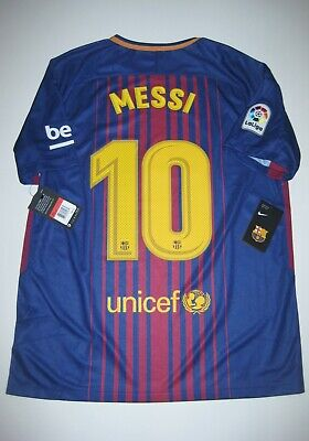 purchase cheap b826a 164f2 2017-2018 NEW FC Barcelona Lionel Messi Home Jersey Kit Argentina Jersey  Maglia