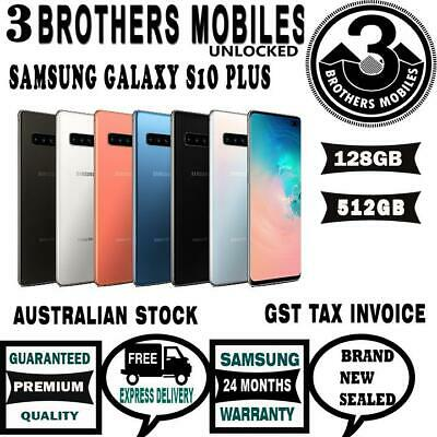 [Au Stock] Samsung Galaxy S10+ Plus 128Gb [Prism Green] Sm-G975F+Gst Tax Invoice