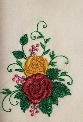 "Napkins- To Compliment ""Royal Albert Old Country Roses"" Two Roses"