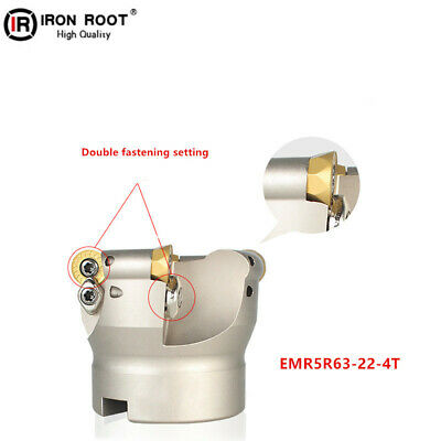 1P EMR5R63-22-4T Indexable Face Milling Cutter For Round RPMW1003 Insert