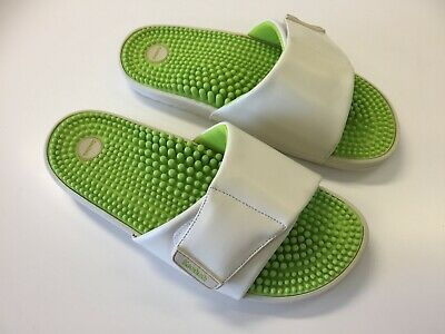 Kenkoh Nagomi Massage Sandals Lime Japanese Free Shipping