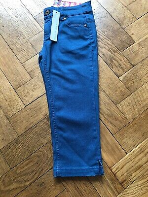 BNWT Girls Debenhams Red Herring Crop Jeans With Stretch, Age 7